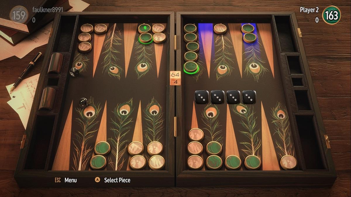Backgammon Blitz gallery full table peacock feathers 1200