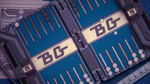 Backgammon Blitz gallery table angle blue bg logo 1200