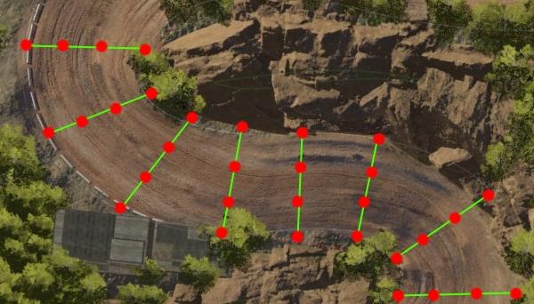An Algorithm to Generate Racing Lines in Mantis Burn Racing®